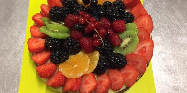crostata di frutta capriccio